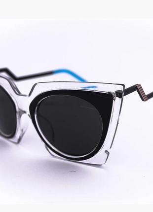 Стильные ретро очки экстраордирнарные солнцезащитные очки