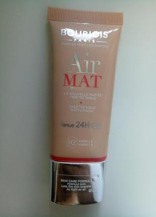 Тональный крем bourjois air mat 24h vanilla