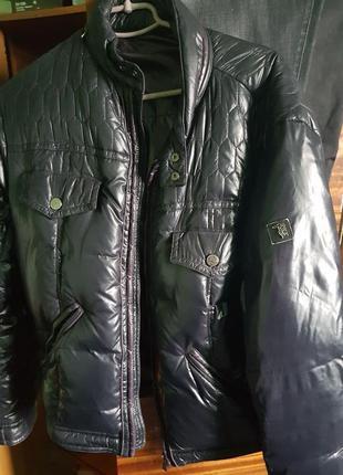 Куртка пуховик trussardi