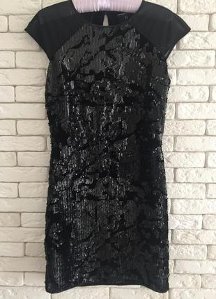 Шикарное коктейльное платье warehouse