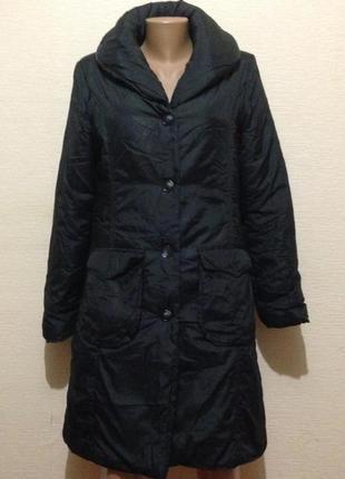 Пальто из плащевки на синтепоне