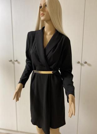Черное платье пиджак