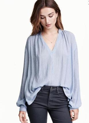 Блузка рубашка н&м вискоза