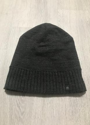 Мужская теплая шапка apex