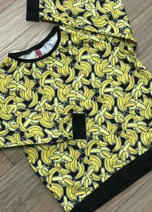 Свитшот с бананами