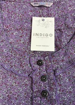 Очень красивая и стильная брендовая блузка в цветочках!