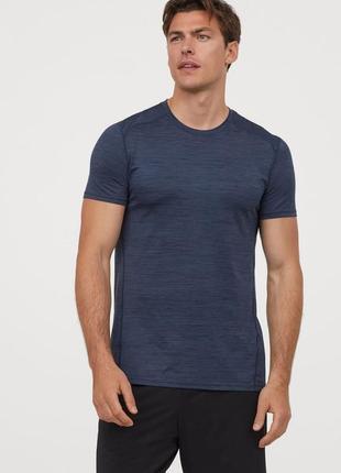 Спортивная футболка  muscle fit h&m 58-60 размер