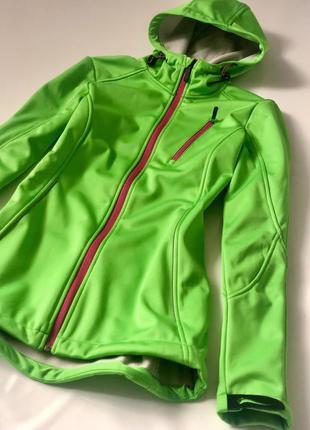 Термо куртка на флисе crivit sports pro