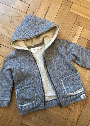 Худи,толстовка,куртка,кофта, с капюшоном, zara beby boy