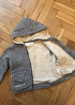 Худи,толстовка,куртка,кофта, с капюшоном, zara beby boy2 фото