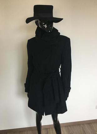 Кашемировое пальто zara, новое с бирками