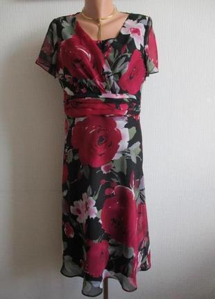 Платье в цветочный принт amanda marshall