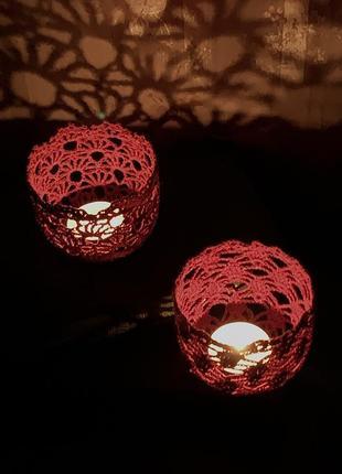 Романтические подсвечники, романтичні підсвічники,  святковий декор