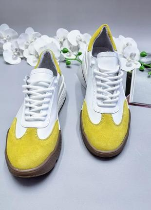 Женские кожаные кроссовки, жіночі шкіряні кросівки