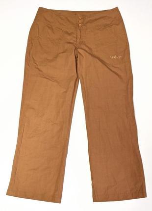 Sherpa летние штаны клёш туристические трекинговые лен льна
