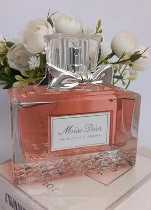 Christian dior absolute blooming мисс диор парфюмированная вода духи парфюм женские