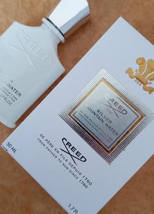 Creed silver mountain water парфюмированная вода унисекс парфюм духи