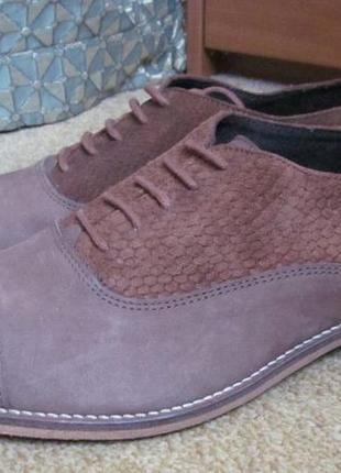 Туфли оксфорды dune р.42.оригинал