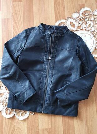 Курточка косуха на хлопчика фірма lefties розмір 7-8 років