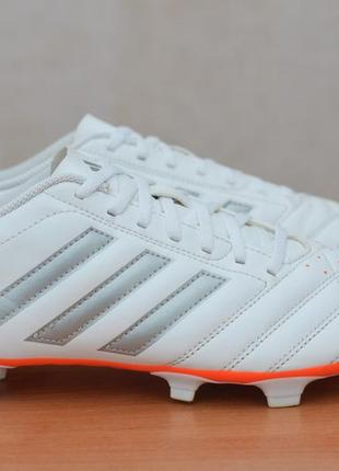 Бутсы с пластиковыми шипами adidas goletto v fg, 43-44 размер. оригинал