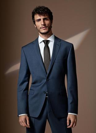 Чоловічий піджак/блейзер 100% шерсть yues primatist marlane/мужской стильный пиджак