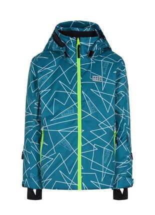 Зимняя лыжная мембранная куртка lego wear р.104-110 lenne reima columbia