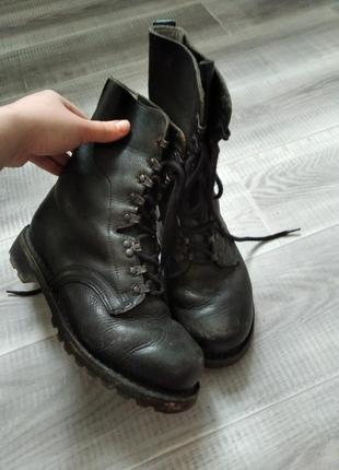 Кожаные берцы ,ботинки,сапоги