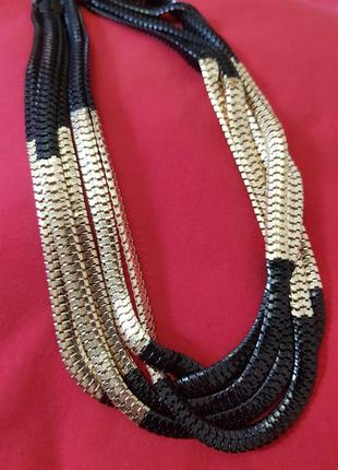 Кольє /  ланцюжок /масивное ожерелье / колье /  цепь