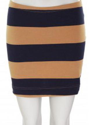 Спідниця (юбка) h&m basic в широку полоску