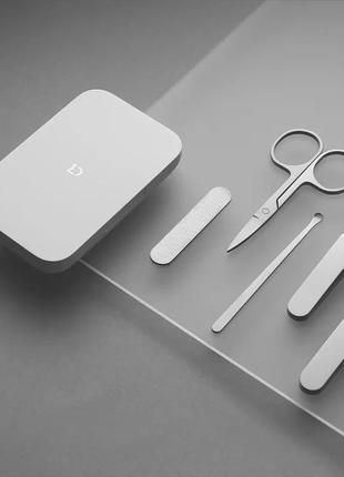 Маникюрный набор xiaomi mijia nail clipper five piece set silver 5 в 1