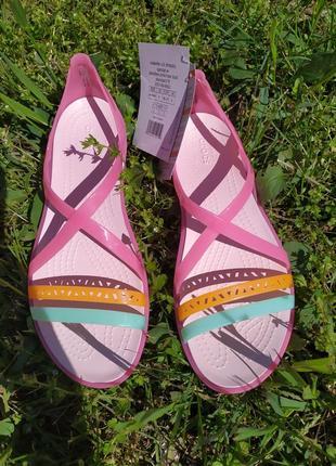 Crocs isabella strappy sandals w6