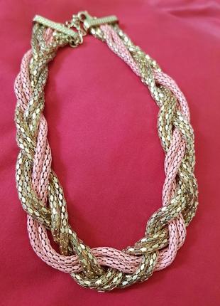 Кольє / ланцюжок /масивное ожерелье / цепь