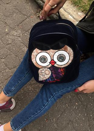 Милый рюкзачек рюкзак совушка