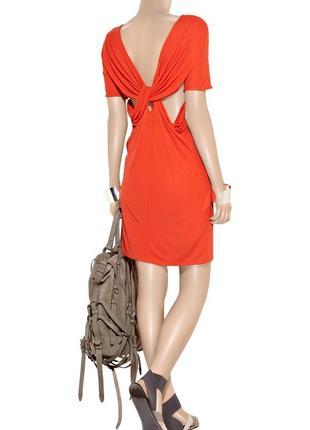Acne-дизайнерское платье с вырезом на спинке! р.-36