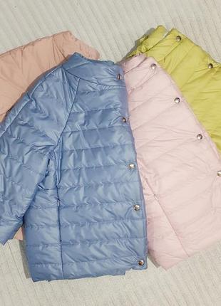 ‼️!!распродажа в связи с закрытием магазина!!!короткая легкая деми куртка на кнопках