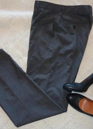 Классические серые брюки в оффис bhs. размер 40-42 европ.