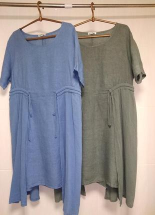 Платье лен италия, 50-54