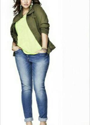Vanver, блакитні джинси стрейч, великий розмір