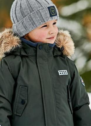 Зимняя парка удлиненная куртка пальто lego wear tec exclusive р.116-122 lenne reima
