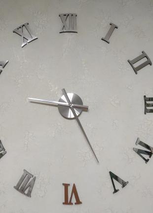 Настенные часы с эффектом 3d