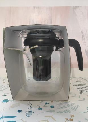 Заварник стеклянный чайник simax