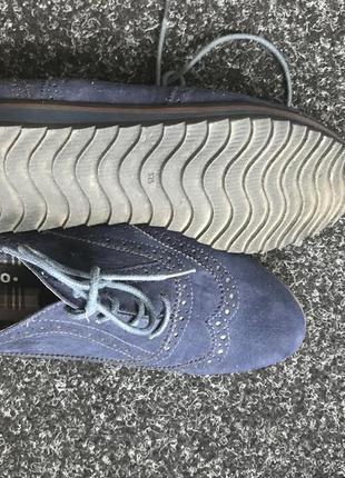 Ботиночки синие centro