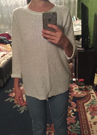Удлиненный свитерок h&m