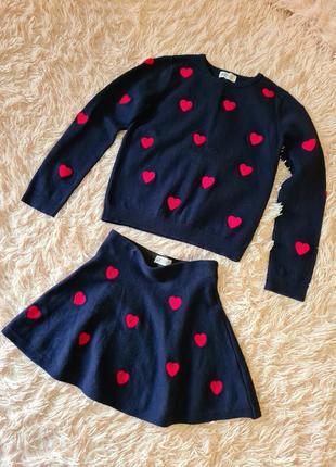 Костюм zara кофта и юбка для девочки ❤