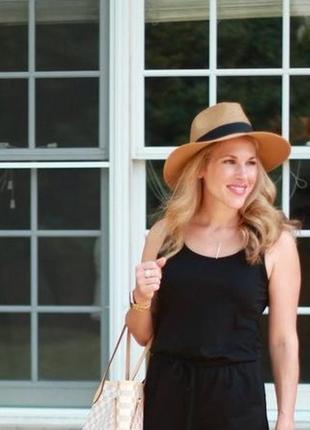 Женская шляпа федора соломенная 13285н