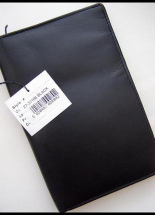 Cтатусный большой кожаный кошелек портмоне – 100% натуральная кожа