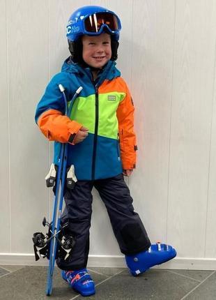 Детский зимний горнолыжный костюм комбинезон р.104 lego wear reima columbia
