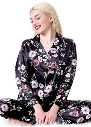 Пижама женская сатин турция