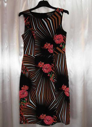 Красивое английское платье fever р. 44 наш ( 36 евро)