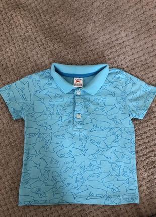 Стильна футболка lc waikiki 6-9 міс.(68/74см)